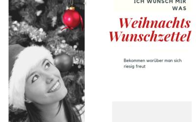 Wunschkarten für Weihnachten